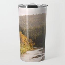 Humboldt County Fall Colors, Autumn Decor, Redwoods, Avenue of the Giants California Photography  Travel Mug