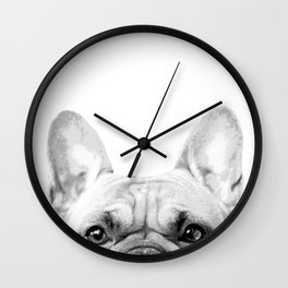Bruno The French Bulldog Wall Clock