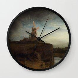 Rembrandt van Rijn - The Mill Wall Clock