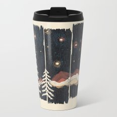 A Starry Night in the Mountains... Metal Travel Mug