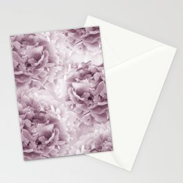 Mauve Peonies Dream #1 #floral #decor #art #society6 Stationery Cards