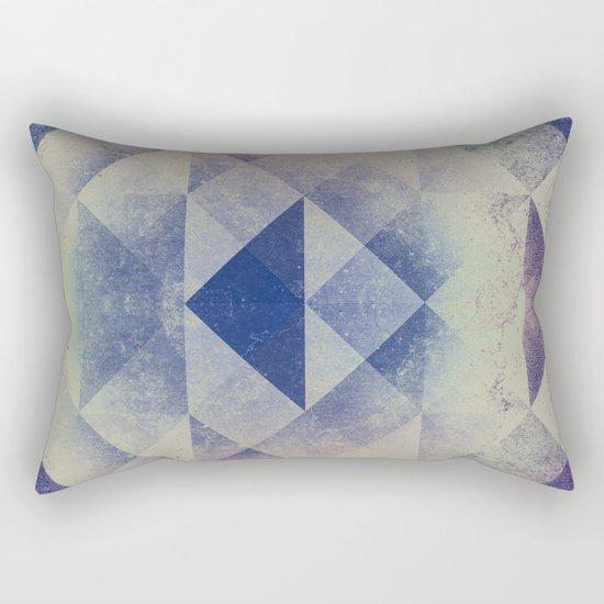 Triangles XXVIII Rectangular Pillow