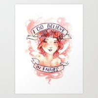I Do Believe Art Print