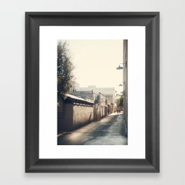 Friday Evening, Pasadena Framed Art Print