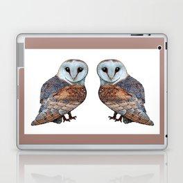 The Owl Collection - Barn Owl Laptop & iPad Skin