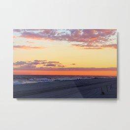 Soothing Sunset Metal Print