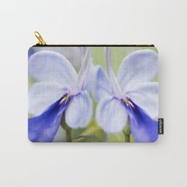Blue Glory Bower Carry-All Pouch