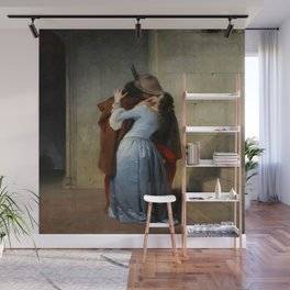 Francesco Hayez's The Kiss Wall Mural