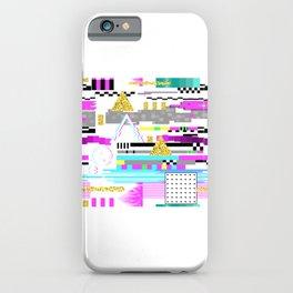 Glitch Retro Designs For Glitch Goth Lovers design iPhone Case