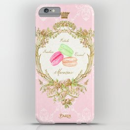 French Patisserie Macarons iPhone Case