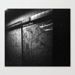 The Subways Canvas Print