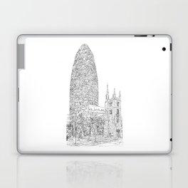The Gherkin Laptop & iPad Skin