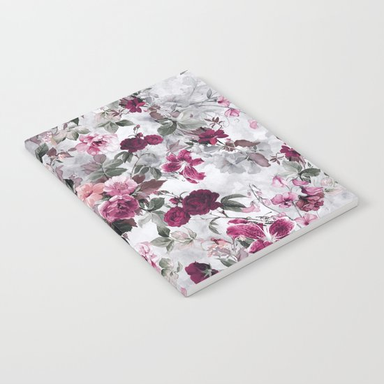 Rose Red Notebook