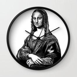 Leonardo da Vinci's Mona Lisa Wall Clock
