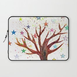 Star Tree Illustration Art Laptop Sleeve