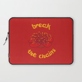 Break the chains Laptop Sleeve