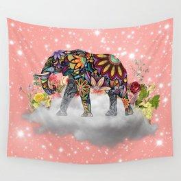 MANDALA ELEPHANT Wall Tapestry