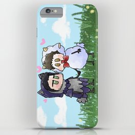 Sheep and Wolf iPhone Case