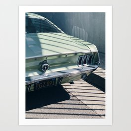 Ford Mustang / Venice Beach, California Art Print