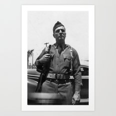 American Soldier Art Print