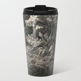 Roar Metal Travel Mug