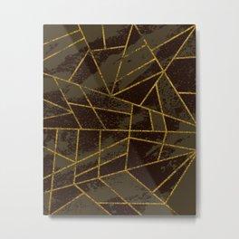 Abstract #941 Metal Print