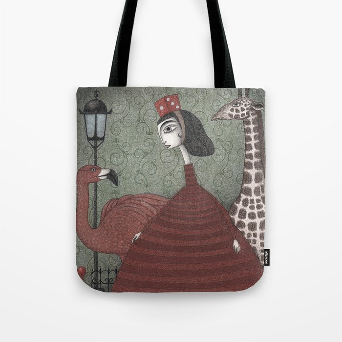Sunday Excursion to the Zoo Tote Bag
