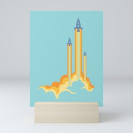 Lift-off! Mini Art Print