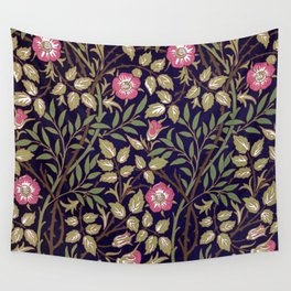 William Morris Sweet Briar Floral Art Nouveau Wall Tapestry