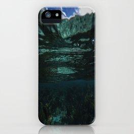 Dark Caribbean Layers iPhone Case