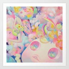 Plum Dream Art Print