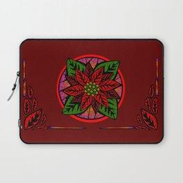 Poinsettia Laptop Sleeve