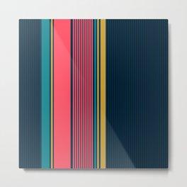 Printable Art, Colorful Lines, Pattern, Modern Art, Minimalist Art, Art Printable, Home Decor Metal Print