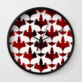 Spring Bunny Wall Clock