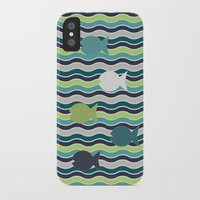 under the sea iPhone & iPod Cases featuring Under The Sea by LLL Creations