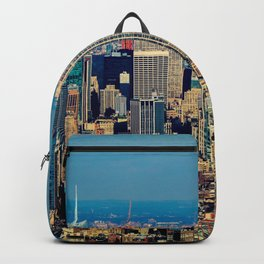 NYC Cityscape (Color) Backpack