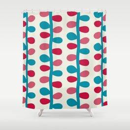 Like a Leaf [colours] Shower Curtain