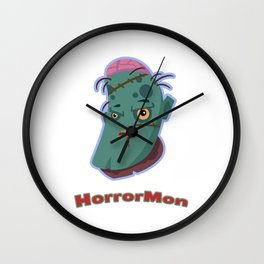 HorrorMon Zombie Wall Clock