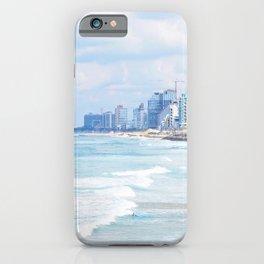 321. Sea Panorama, Tel Aviv, Israel iPhone Case