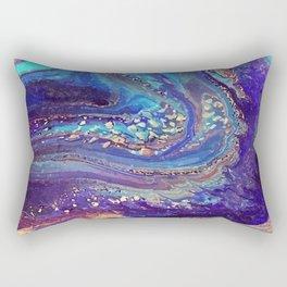 Iridescent Fantasy Abstract Rectangular Pillow