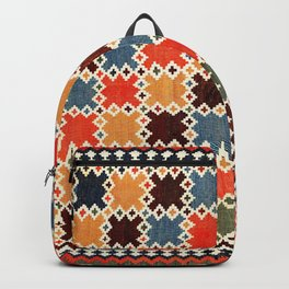 Qashqa'i Fars Southwest Persian Kilim Print Backpack