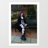 android Art Prints featuring Android by Toxic Tears