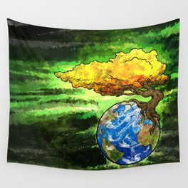 Yggdrasil: The World Tree Of Life Wall Tapestry