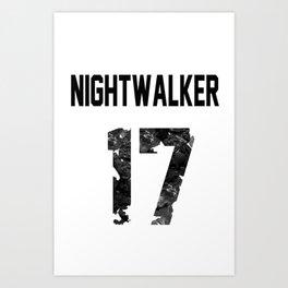 Nightwalker17 Art Print