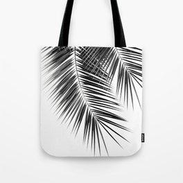 Black Palm Leaves Dream - Cali Summer Vibes #2 #tropical #decor #art #society6 Tote Bag