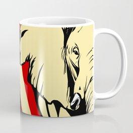 Art print: Elephant pop art Coffee Mug