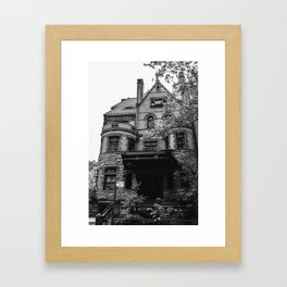 Brooklyn Heights Brownstone Framed Art Print