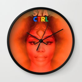 SZA CTRL Wall Clock