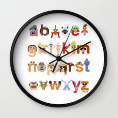 The Great Muppet Alphabet (the sequel) Wall Clock