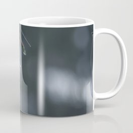 Water drops dripping from pine needles Coffee Mug